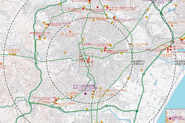 仙台の商業の現状