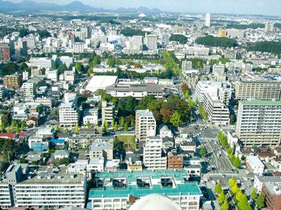 仙台都心周辺部の貴重な敷地