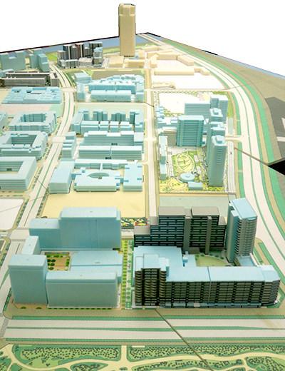 H2-2街区, SH-2街区での都市デザイン業務