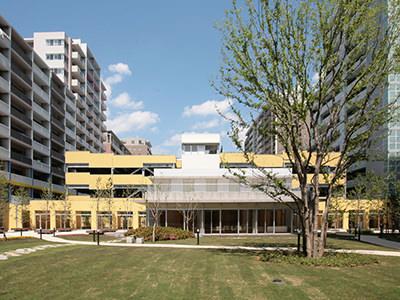 中庭・外構・共用棟などの設計監修