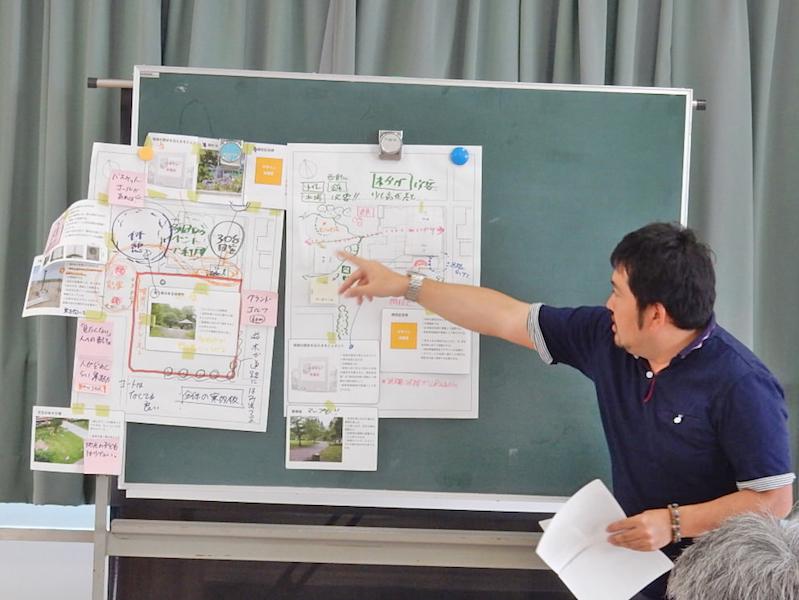 東六郷小学校の跡地のデザイン案をまとめる(2016年度)